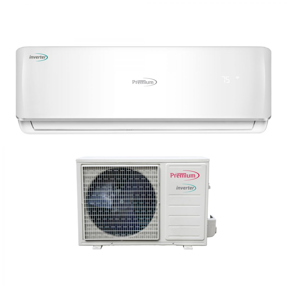 Minisplit 12,000 BTU, Premium, 110V, Cooling and Heating, Inverter Technology – Model: PIA122690A/700B