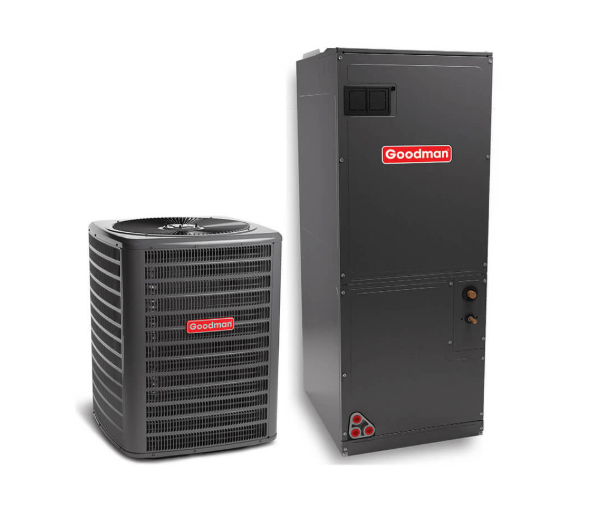 Split System 60,000 BTU (5 TR), Goodman, 220V, Cooling/Heating, MODEL: GSX160601/ASPT61D14