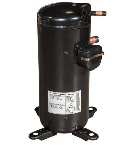 Compressor Scroll,  120,000 BTU, Sanyo/Panasonic, 220V, R410A, Model: C-SBP315H36A